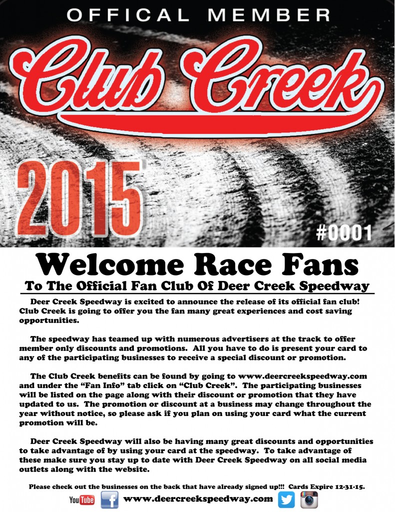 Club Creek Welcome copy