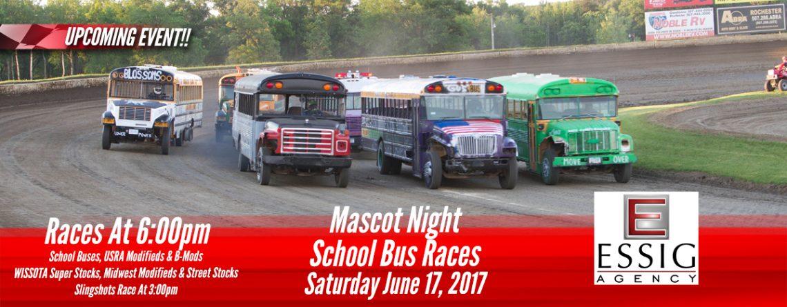 School Bus Races Mascot Night Points Race Deer Creek