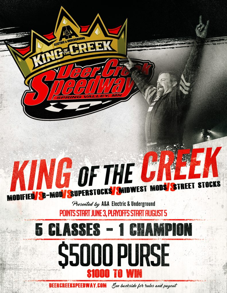 King of the Creek 8-5x11 Front 2-2-17