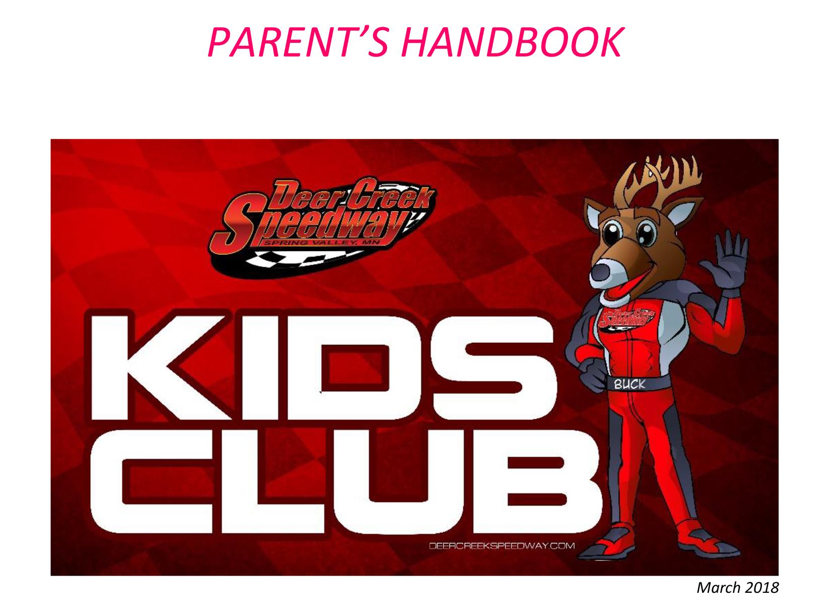 Parents Handbook – Deer Creek Speedway 5f076f04c